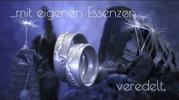 Schweiz: Eheringe mit eigenen Essenzen - Modell D1